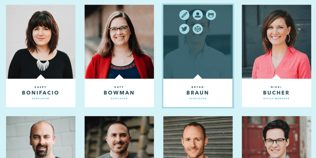 The Best Meet The Team Pages:Creative Examples, Ideas For