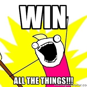 win all the things