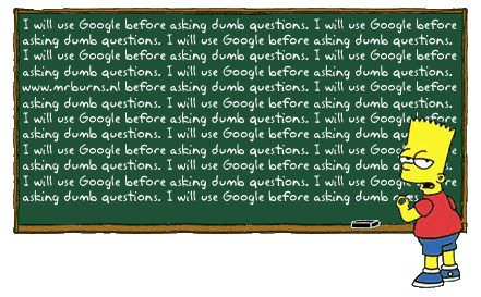 I Will Use Google Before Asking Dumb Questions